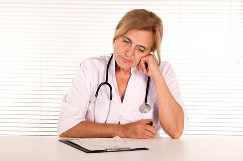 שחיקה מקצועית של רופאים (אילוסטרציה)