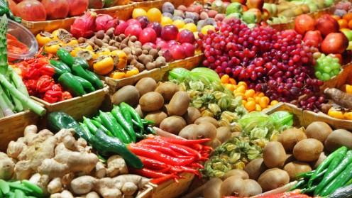 צריכת ירקות (אילוסטרציה)